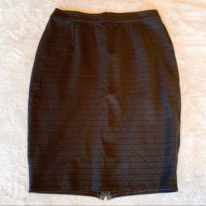Halogen (Nordstrom) Black Pencil Stretch Skirt 10